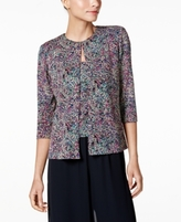 Alex Evenings Petite Glitter Jacquard Jacket & Shell