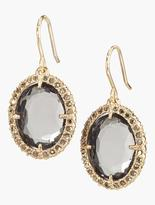 Talbots Faceted Crystal Earrings
