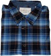 Weatherproof Vintage Mens Lightweight Plaid Flannel Shirt