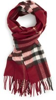 Burberry Women's 'Giant Check' Cashmere Scarf