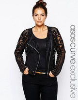 Asos Premium Lace Jacket