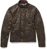 Belstaff Racemaster Waxed-cotton Jacket - Green