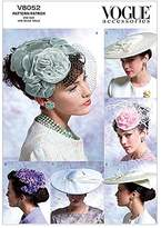 Vogue Ladies Sewing Pattern 8052 Vintage Style Hats & Head Pieces