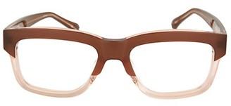 Linda Farrow 56MM Rectangle Optical Glasses
