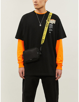 Off-White Graphic-print cotton-jersey T-shirt