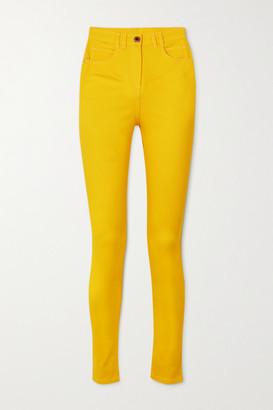 Balmain High-rise Skinny Jeans - Yellow