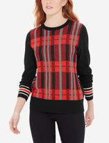 The Limited Plaid Sweater