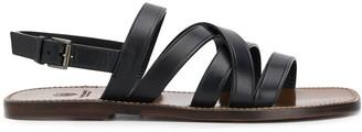 Silvano Sassetti Flat Strappy Sandals