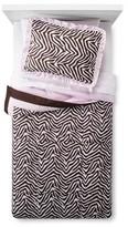 Pam Grace Creations Zara Zebra Comforter Set Twin Multicolor