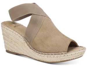 White Mountain Gabbie Wedge Sandals Women's Shoes