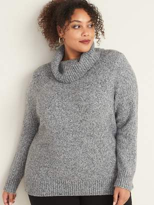 Old Navy Plus-Size Marled Turtleneck Sweater