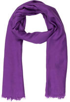 Loro Piana Purple Cashmere Scarf