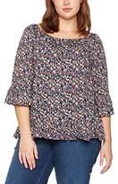 Evans Women's Daisy Frill Gypsy T-Shirt