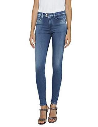 Replay Women's Wa641 .000.47c T06 Skinny Jeans, (Medium Blue 9), W30/L32 (Herstellergröße: 30) UK