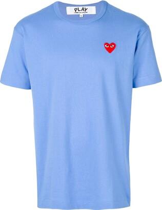 Comme des Garcons heart application T-shirt