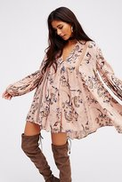 Free People Just The Two Of Us Paisley Printed Tunic