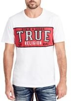 True Religion Cotton Crewneck Printed Tee