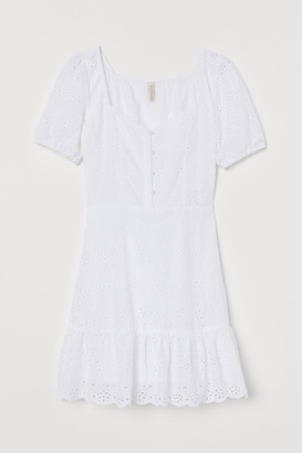 H&M Broderie anglaise dress
