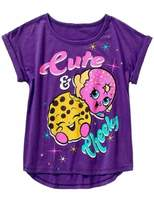 Shopkins and Moose Shopkins Cute & Cheeky Girls T-shirt 4-14 (XS, )
