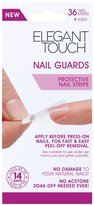 Elegant Touch Nail Guards - 36 Nail Strips 9 Sizes