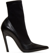 Balenciaga - Bottes noires Sock Heele