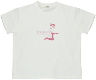 Popsiz Organic Cotton Cropped T-Shirt
