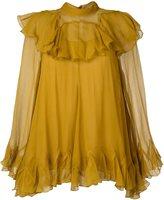 Chloé ruffled blouse - women - Silk/Polyester - 42