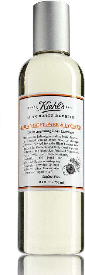 Kiehl's Aromatic Blends Orange Flower & Lychee Skin-Softening Body Cleanser, 8.4 fl. oz.