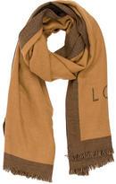 Louis Vuitton Wool Cashmere Shawl