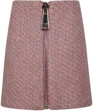 Moschino Back Zip Skirt
