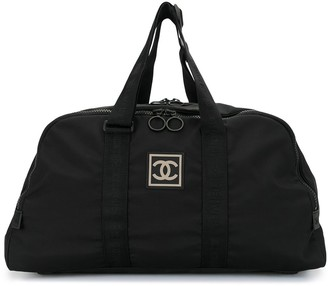 Chanel Pre Owned Sport Line CC holdall