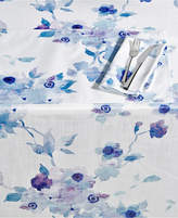 "Lenox Indigo Floral 60"" x 84"" Tablecloth"