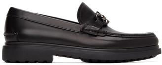 Salvatore Ferragamo Black Ready Gancini Loafers