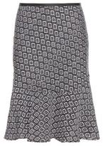 Diane von Furstenberg Isabell Printed Silk Skirt
