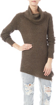 Baciano Long Cowl Neck Sweater