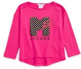 Little Marc Jacobs Girl's Graphic Tee