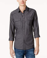 American Rag Men's Long Sleeve Chambray Button Down Shirt, Created for Macy's