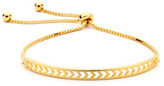 Pastiche Joyous Bangle In Yellow Gold Gold Plated Silver
