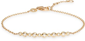 Bony Levy Monaco Diamond Bar Bracelet