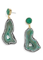 BaubleBar Moonrock Drops-Green