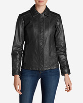 Eddie Bauer Women's Leather Stine Jacket