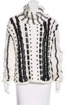 Altuzarra Woven Turtleneck Sweater