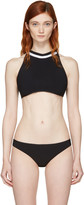 Ward Whillas Black Whythe Halter Bikini Top
