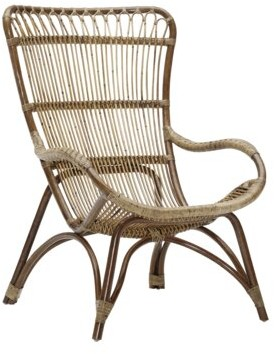 Hollingsworth Lounge Chair AllModern Leg Color: Antique