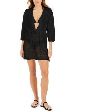 Dotti Gypsy Gem Crochet Tunic Cover-Up Women's Swimsuit