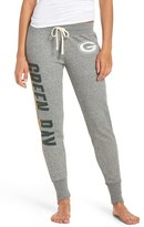 Junk Food Clothing Women's 'Green Bay Packers' Cotton Blend Sweatpants