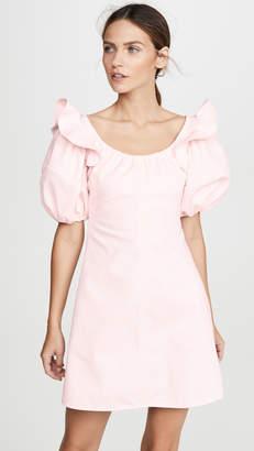 Ellery Valeria Bubble Sleeve Mini Dress