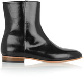 Dieppa Restrepo Rod glossed-leather boots