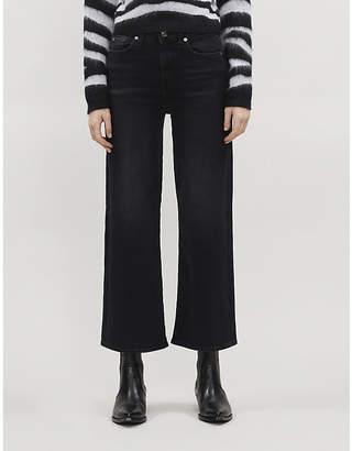 7 For All Mankind Alexa Soho crop stretch-denim jeans