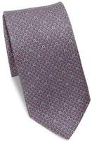 Salvatore Ferragamo Gancini Logo Silk Tie